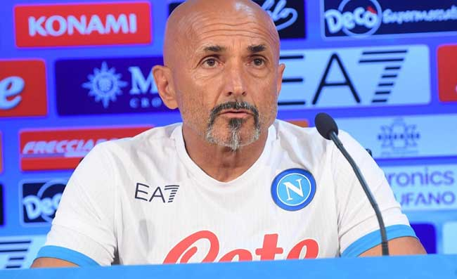"""Spalletti: """"Mazzarri? Non voglio litigare. Ecco perché ho sostituito Osimhen. Farò turnover"""""""