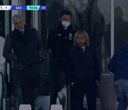 La furia ceca di Nedved al gol del Sassuolo (VIDEO)